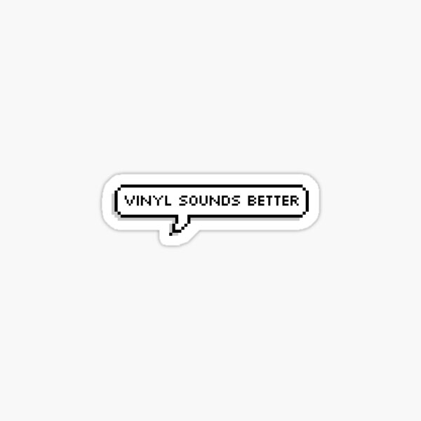 Records Vinyl Sticker