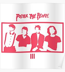FOSTER THE PEOPLE // III ALBUM Poster