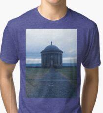 Mussenden Temple - Nothern Ireland  Tri-blend T-Shirt