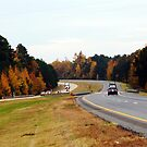 Fall Interstate by Elisha Rhea