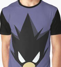 Jet Black Hero Graphic T-Shirt