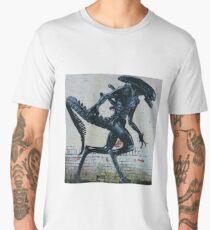 Alien Graffiti - Sci Fi Men's Premium T-Shirt