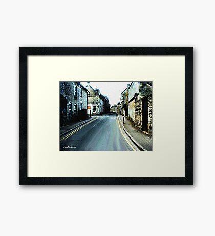 English Village Framed Print