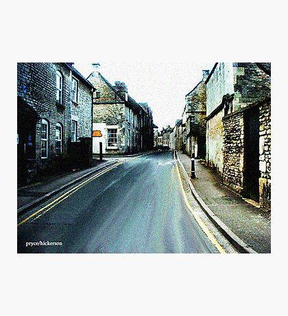 English Village Photographic Print