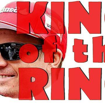 Kimi Raikkonen Hungaroring  by alissarmanc