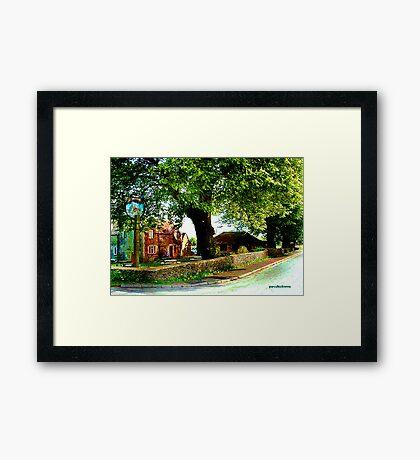 English Roadside Framed Print