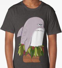 Funny Shark Head Maui Long T-Shirt
