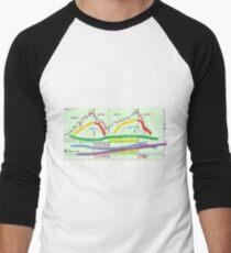 Graphic Men's Baseball ¾ T-Shirt