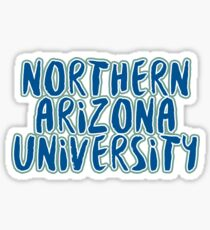 Northern Arizona University - Style 37 Sticker