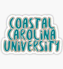 Coastal Carolina University - Style 37 Sticker