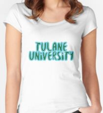Tulane - Style 37 Women's Fitted Scoop T-Shirt