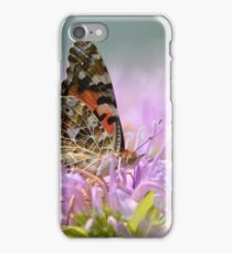 Lady in the Bee Balm iPhone Case/Skin