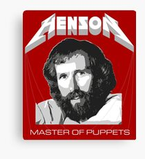 Henson - Master of Puppets Canvas Print