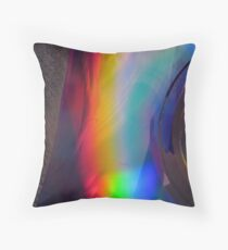 Prismatic Pyroclast Throw Pillow