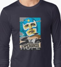 Esperanza (Hope) Lucha libre Long Sleeve T-Shirt