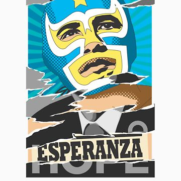 Esperanza (Hope) Lucha libre by reeceward