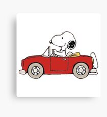 The Peanuts - Snoopy Canvas Print
