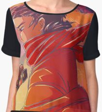 A Vow In The Desert Women's Chiffon Top