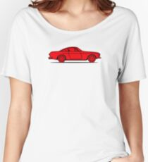 Volvo P1800 (Red) Women's Relaxed Fit T-Shirt