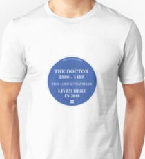 The Doctor lived here T-Shirt