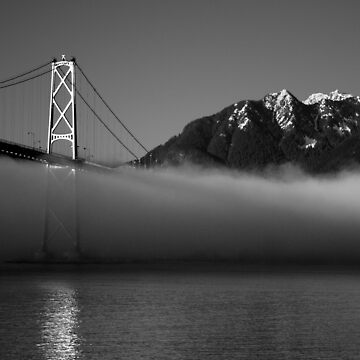 Lion's Gate Bridge by Clairearmistead