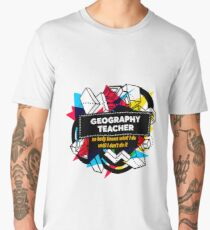 GEOGRAPHY TEACHER Men's Premium T-Shirt