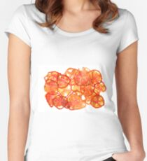 Sour Red Tomato Women's Fitted Scoop T-Shirt