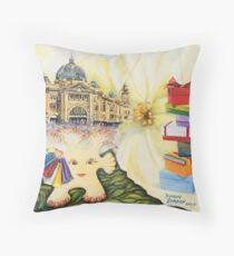Melbourne Connections Throw Pillow