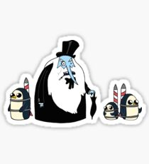 Ice King Crossover Penguin Sticker