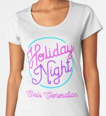 Girls' Generation (SNSD) 'Holiday Night' Women's Premium T-Shirt