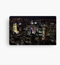 #NEW YORK NIGHT Canvas Print