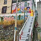 Keyboard Stairway by Graeme  Hyde