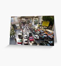 Minature Bangkok Greeting Card