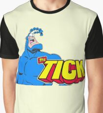 The Tick Man in Blue Suits Graphic T-Shirt
