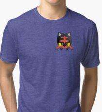 Pokemon Pop Litten Tri-blend T-Shirt