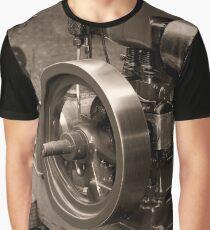 Old Glory Wolseley Engine Graphic T-Shirt