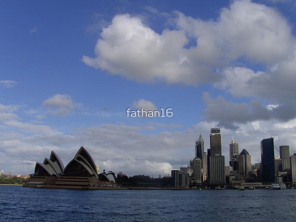 Sydney Opera House by fathan16