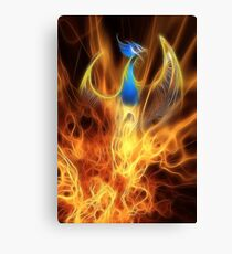 From the ashes... Canvas Print