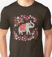 Elephants in the Flower Garden T-Shirt