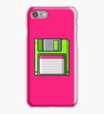 Retro - Diskette iPhone Case/Skin