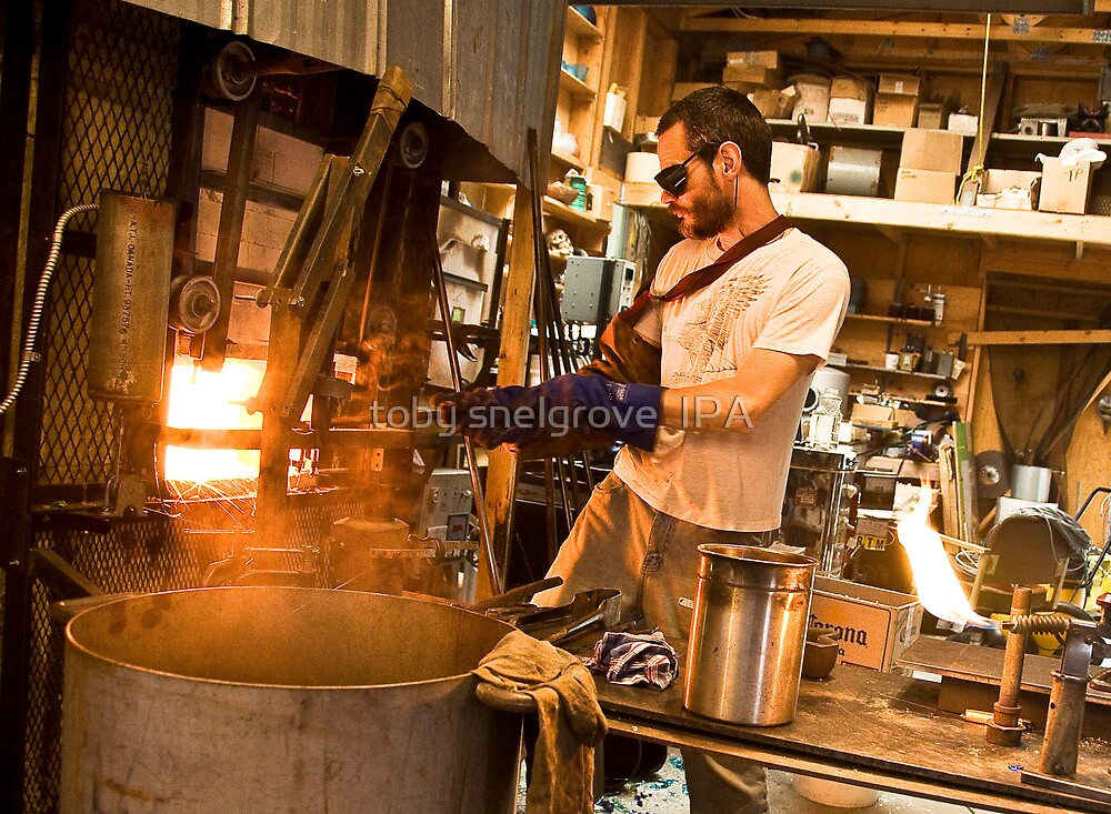 Forging Glass by toby snelgrove  IPA