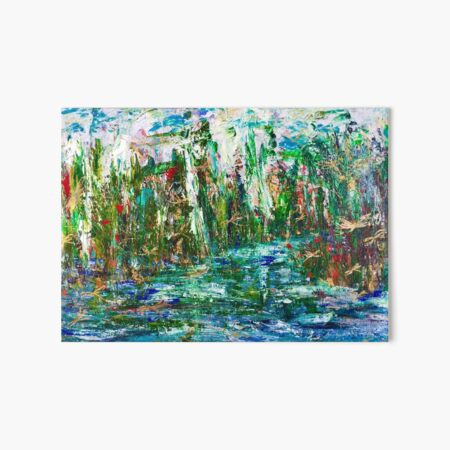 Dragonflies palace Art Board Print