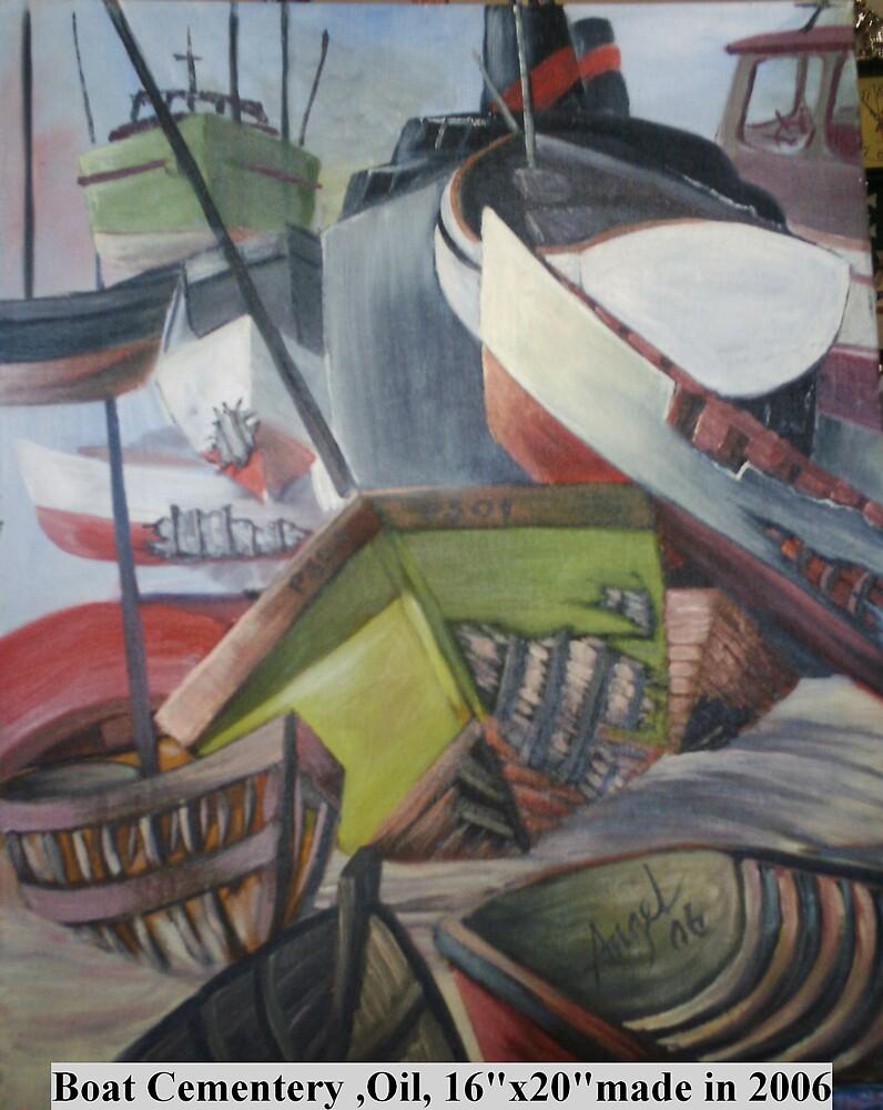 Boat Cemetary by Angel Ruiz