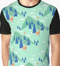 Back to Nature - Pattern T-shirt graphique