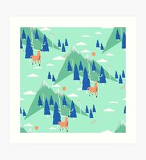 Back to Nature - Pattern Impression artistique