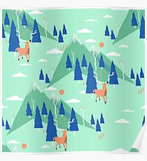 Back to Nature - Pattern Poster