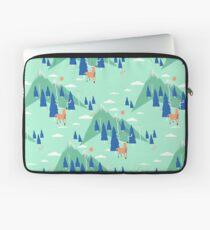 Back to Nature - Pattern Housse de laptop