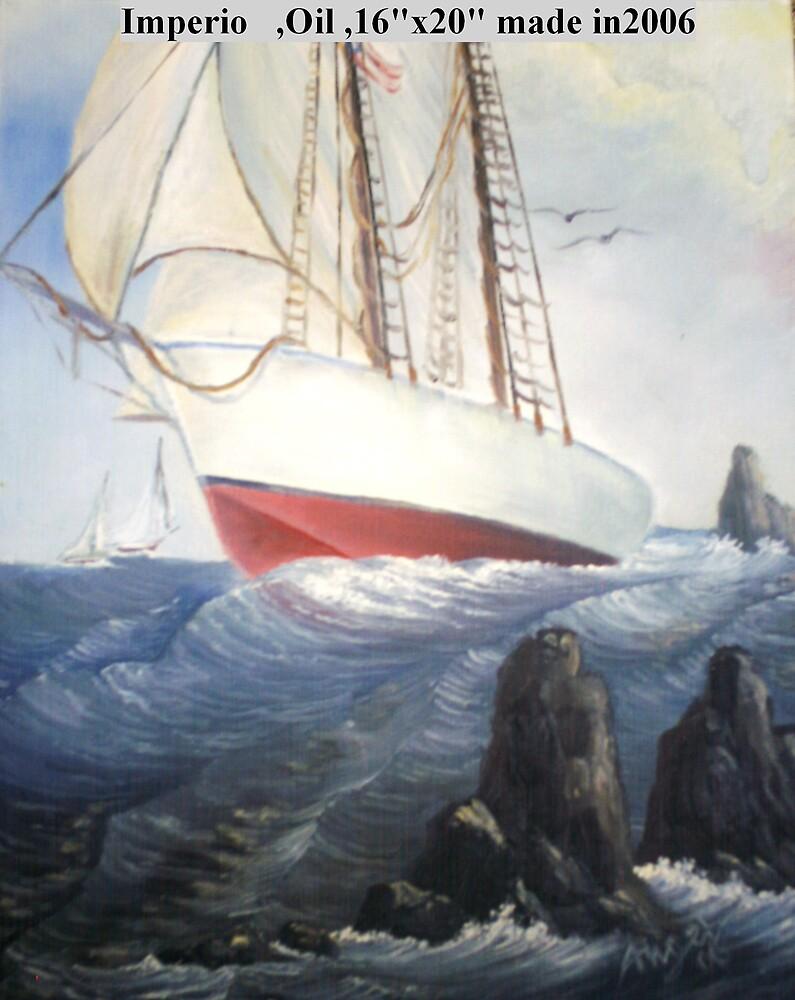 Lonelier sea master by Angel Ruiz
