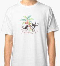 Tropical Monkeys Classic T-Shirt