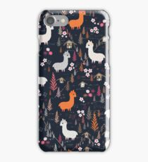 Mountain Chalet Alpacas iPhone Case/Skin